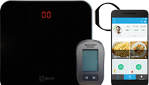 Smart weighing scale, glucometer and fitness tracker